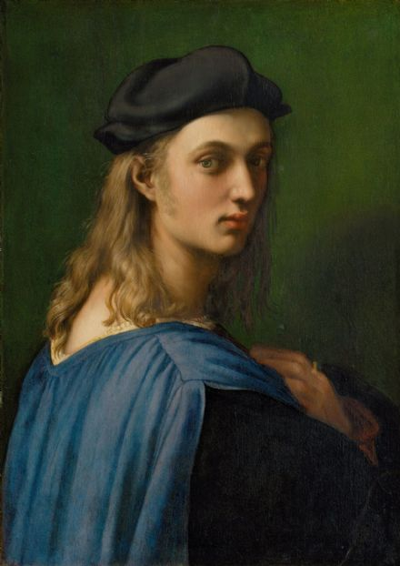 Raphael (Raffaello Sanzio of Urbino): Portrait of Bindo Altoviti. Fine Art Print/Poster. Sizes: A4/A3/A2/A1 (001934)